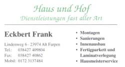 Frank Haus und Hof