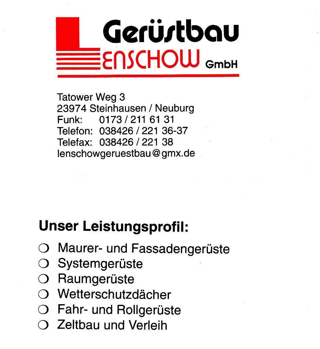 Lenschow Gerüstbau