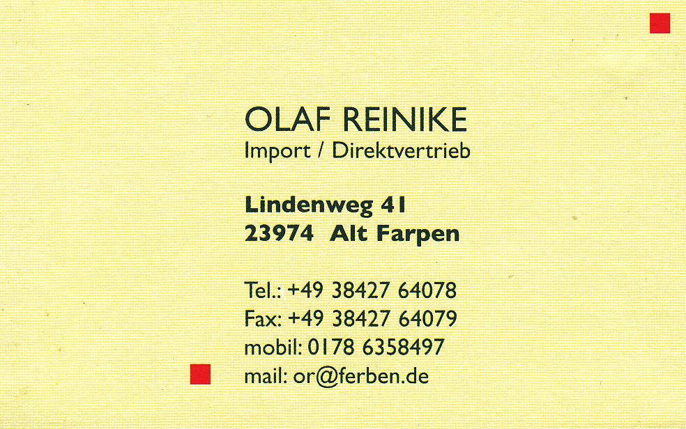 Reinike Import / Direktvertrieb